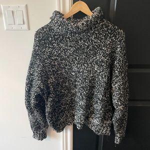 Zara Knit Loose Fit Sweater Turtleneck